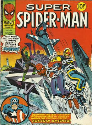 Super Spider-Man #254, Nova and Spidey vs Photon