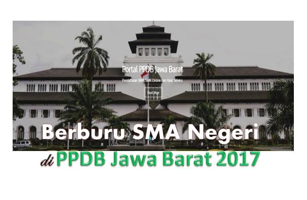 Berburu SMA Negeri di PPDB Jawa Barat