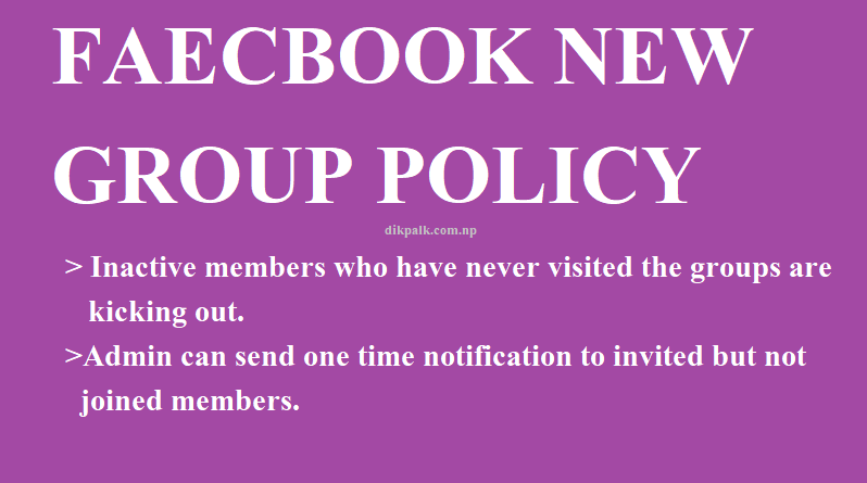 Is Facebook automatically kicking out inactive group members