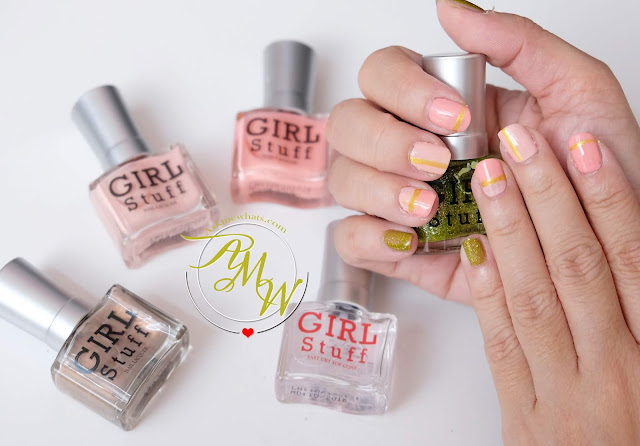 a photo of Dainy and Classy Nail Art Tutorial using Girlstuff Summer Romance Collection By Nikki Tiu of www.askemwhats.com