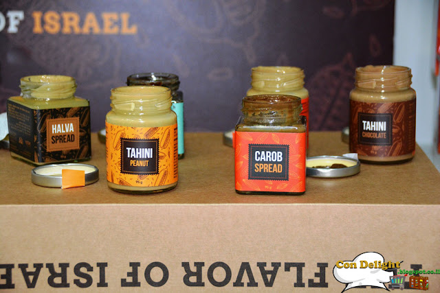 tahini flavors by Yoffi
