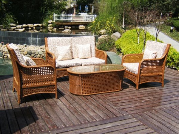 outdoor wicker patio furniture sets ideas
