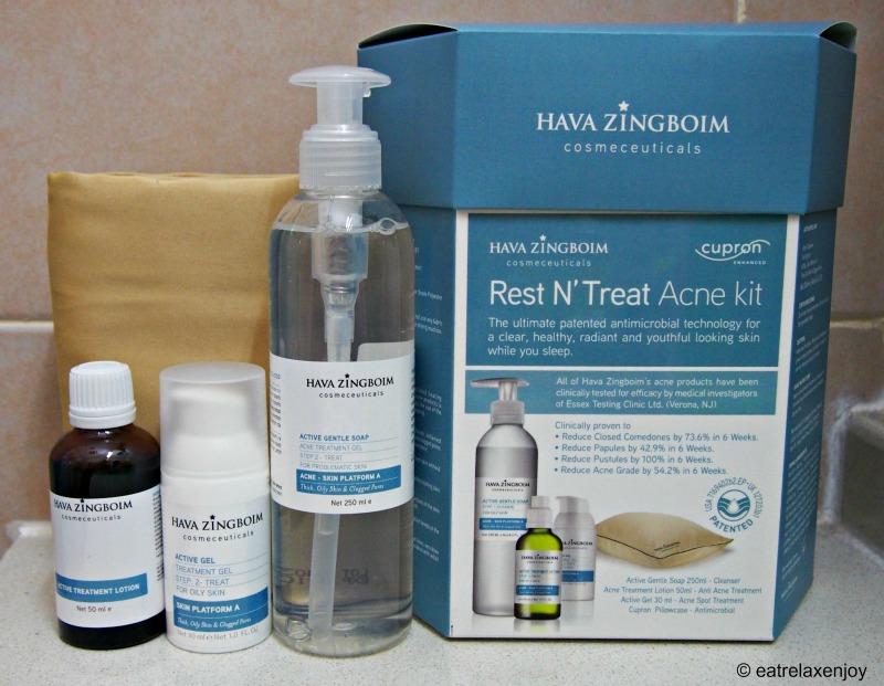 ערכת טיפול באקנה מבית חוה זינגבוים Rest N' Treat