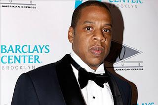 Jay-Z e um Homem no Harley