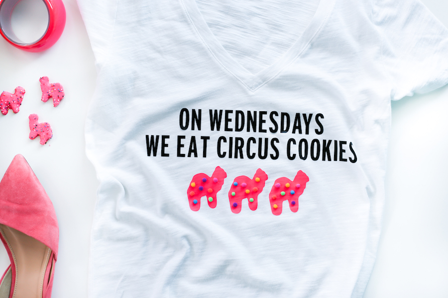 Things We Heart - Circus Animal Cookies from Honey and Smoke Studio - On Wednesdays We Eat Circus Cookies Tee from Salty Canary