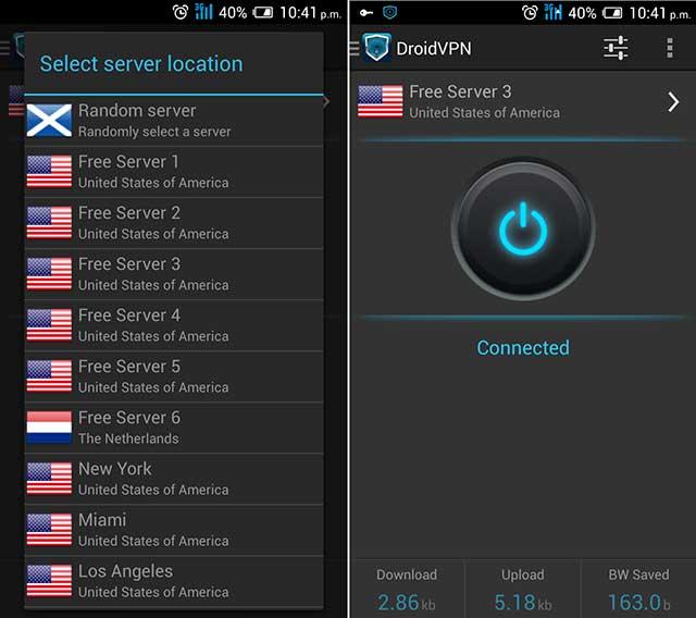 aplicación para internet Gratis ilimitado para Android