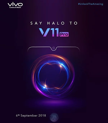 Vivo V11 Pro dengan Layar FullView dan Sensor Sidik Jari di Layar Akan Diluncurkan di India pada 6 September