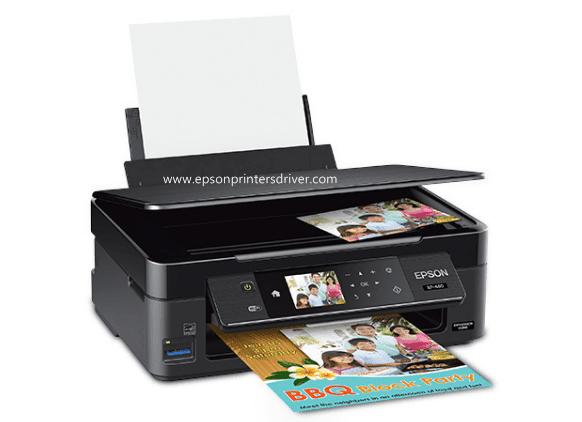 Epson XP-440 Scanner Driver Software Printer Setup Manual