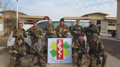 YBT na frente de Raqqa