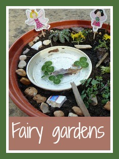 How to make fairy gardens with children