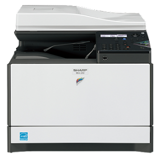 F printer is a move past times colouring cloth printing is compelling installation elementary as well as compatible amongst PC Sharp MX-C300F Driver Download