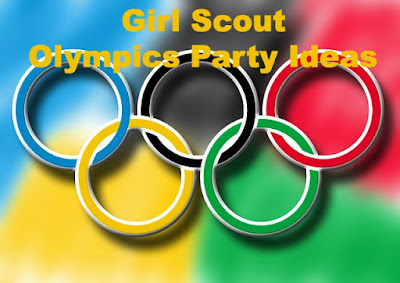 Ideas for having an Olympics party for your Girl Scout meeting