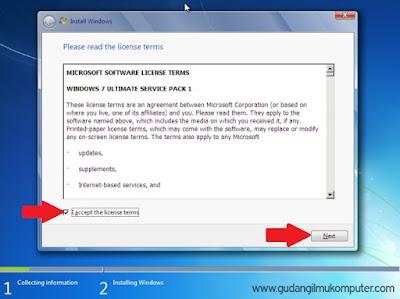 Cara Menginstal Windows 7 Lengkap Dengan Gambar