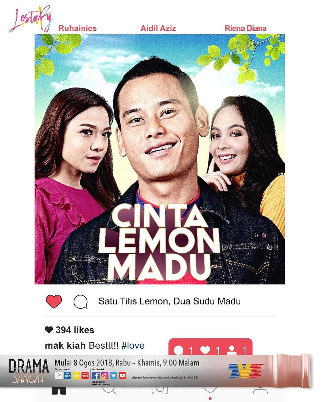 OST Cinta Lemon Madu (TV3)