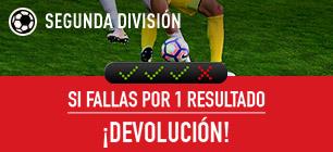 sportium seguro combinada Segunda División Jornada 3