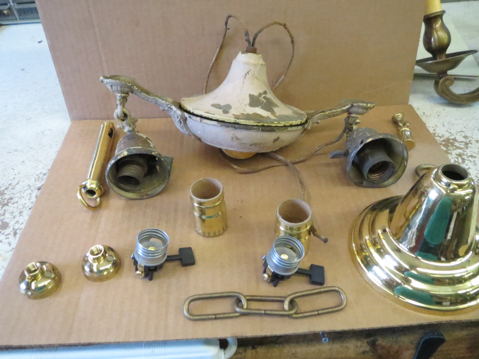 Lamp Parts and Repair | Lamp Doctor: Vintage 20's-30's Art ...