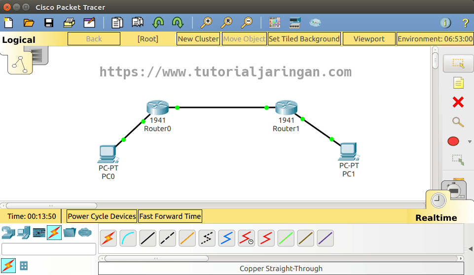 cisco packet tracer ubuntu