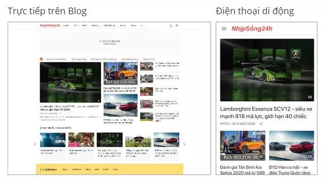 Template Blogspot Tin Tức Đẹp Chuẩn SEO Tinh Tế Tải Nhanh - VeoSpot