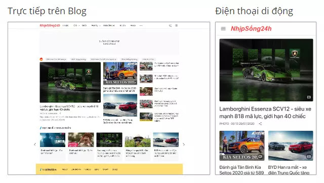 Theme blogspot blog tin tức tinh tế chuẩn seo tải nhanh mới