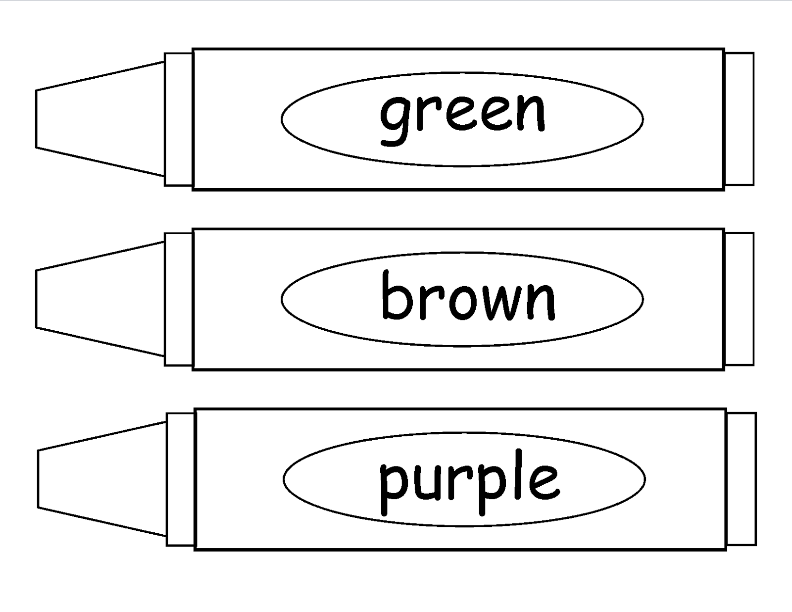 Teachers r us update of tpt for Coloring pages crayons
