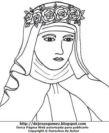 Dibujo de Isabel Flores de Oliva para colorear, pintar o imprimir. Imagen de Isabel Flores de Oliva hecho por Jesus Gómez
