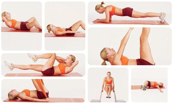 exercitii topire grasimi abdominala