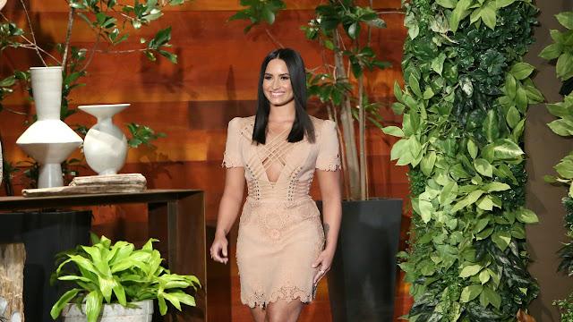 Demi Lovato habló sobre su salud en el show de Ellen Degeneres
