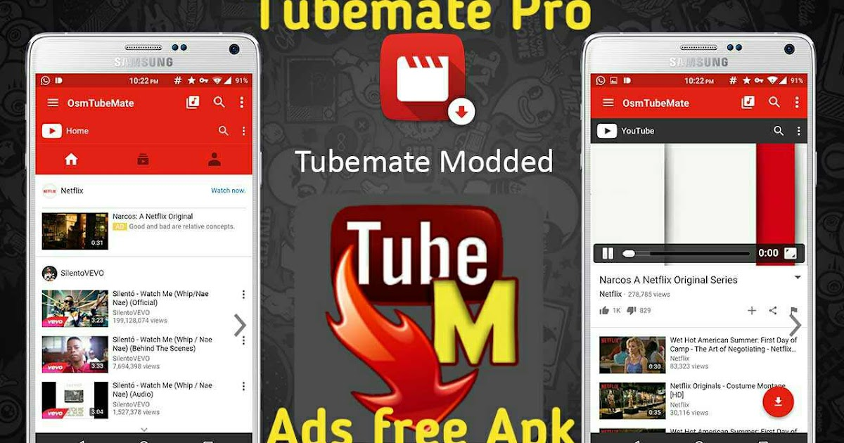how to use tubemate app