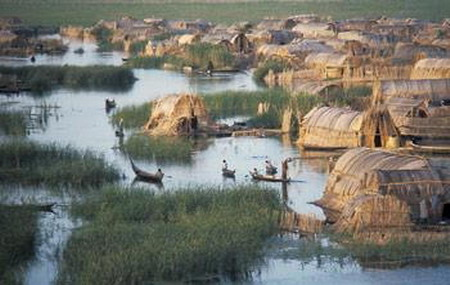 Iraqi marshes threatened