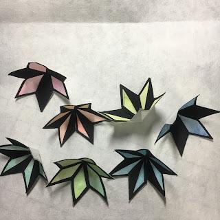 影織の切り絵ポップアップカード作り方⑲