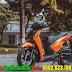 Mẫu Sơn xe Honda SHVN màu cam Z1000 cực đẹp