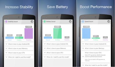 Tampilan Aplikasi Root Booster Premium
