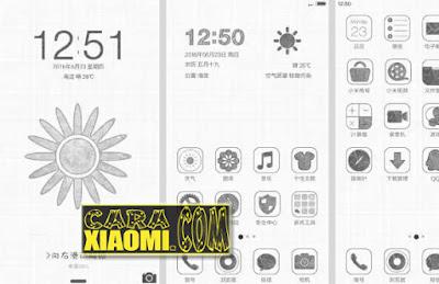 Kumpulan Tema Unik Themes Paper & MITU Untuk Xiaomi MIUI