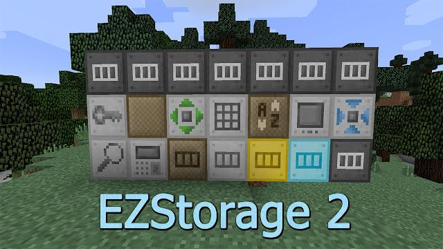 EZStorage Mod 1.10.2
