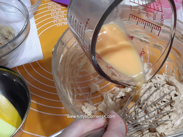 Banana Cake with walnut DIY recipe 香蕉核桃蛋糕自家烘焙食譜