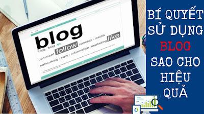 Bí Quyết Sử Dụng Blog Cho Mục Đích Online Marketing