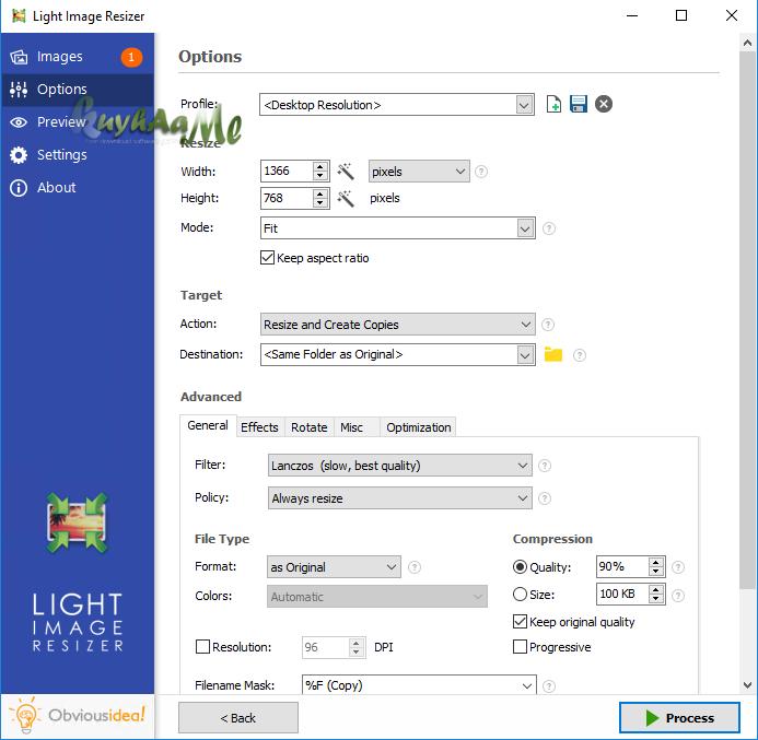 Light Image Resizer terbaru