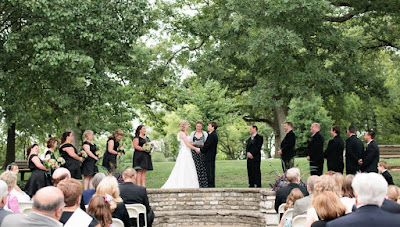 Bee Tree Park Wedding Ceremony