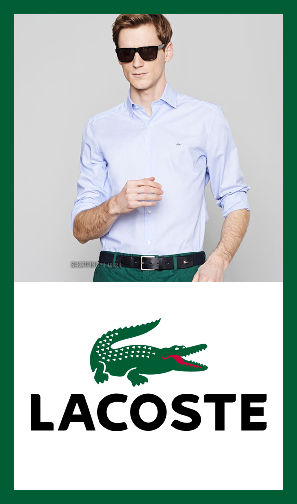 Chemise homme slim fit unie LACOSTE