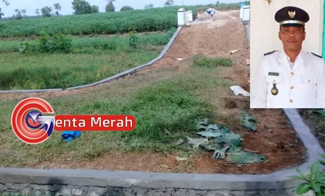 Pembangunan Ifrastruktur DD Desa Badarsakti Dilaksanakan Disemua Dusun