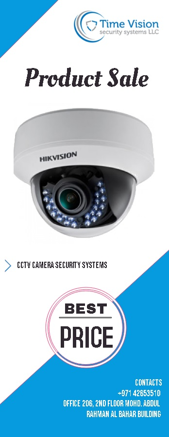 Best cctv camera security systems in dubai
