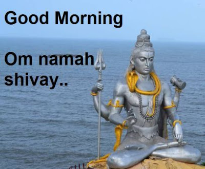 good morning images god - shiva om namah shivay