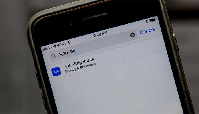 Cara menonaktifkan fitur Auto-Brightness di iPhone atau iPad pada iOS 11