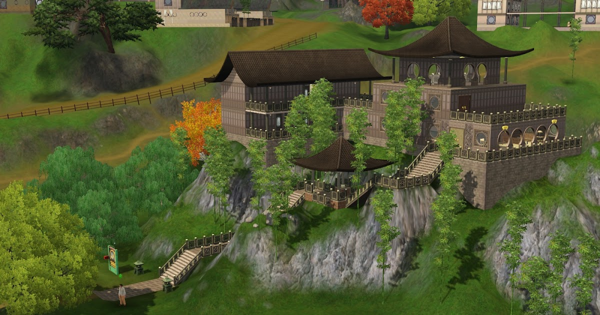 sims 3 community lots compendium sims 3 base camps. Black Bedroom Furniture Sets. Home Design Ideas