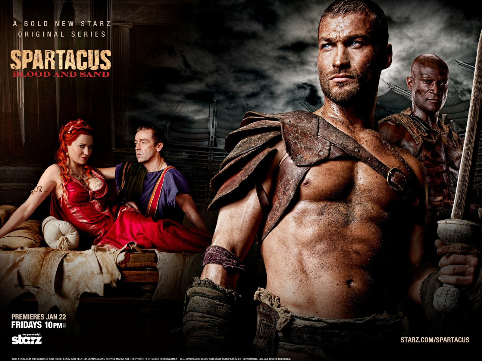 SPARTACUS  blood and sand  serial full episode 18