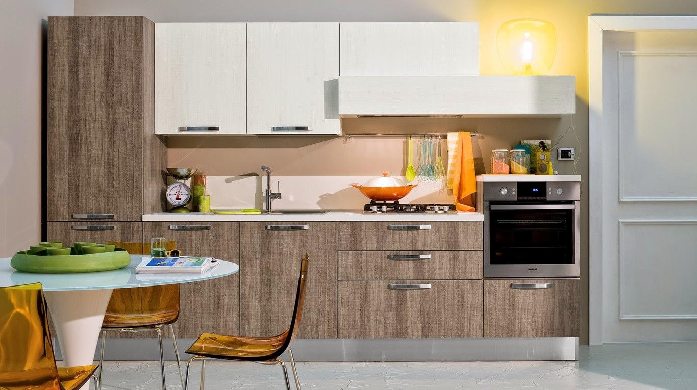 El peculiar veteado de la madera cocinas con estilo for Rubro 7 muebles de cocina