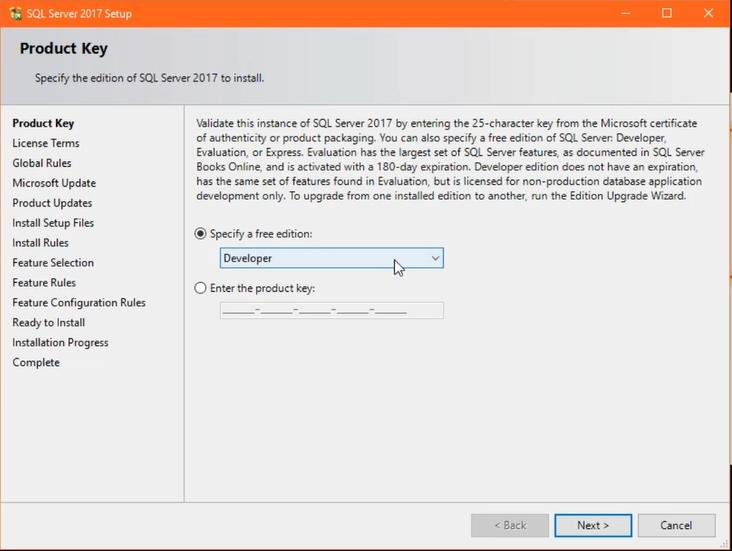 SuperstarWebTech: How to install Microsoft SQL server 2017