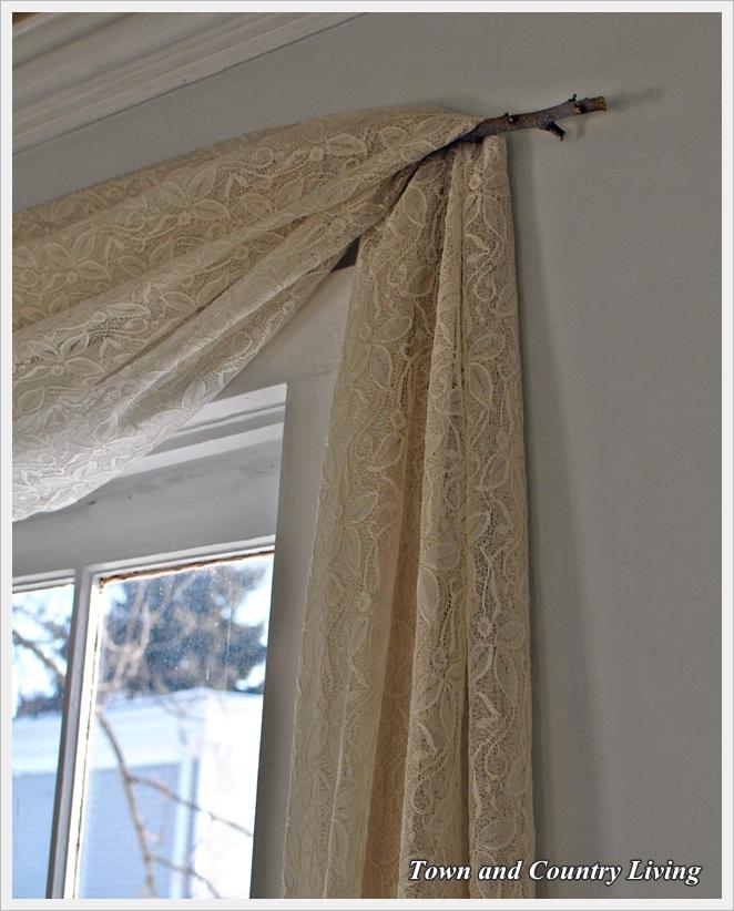 One Dollar No-Sew Curtains
