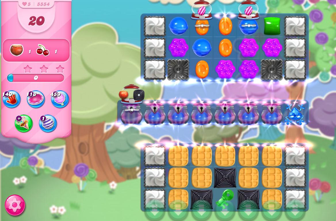 Candy Crush Saga level 5554