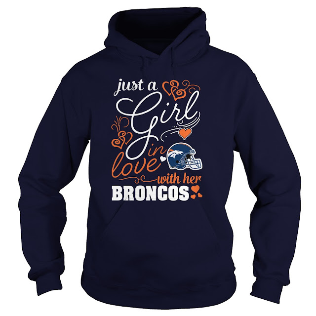 Denver Broncos - Just A Girl In Love With Her Shirt